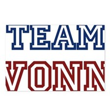 TeamVonn Postcards (Package of 8)