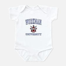 WORKMAN University Infant Bodysuit