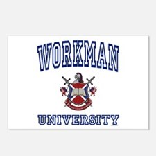 WORKMAN University Postcards (Package of 8)