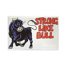 stronglikebull Rectangle Magnet
