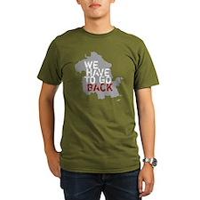 havetogoback-01 Organic Men's T-Shirt (dark)