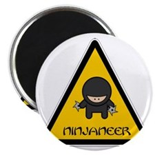 ninjaneer_star_warning_dark Magnet