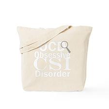 obsessiveCSIwh Tote Bag