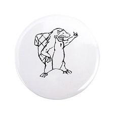 "Christian Homeschool Platypus Pride! 3.5"" Button"