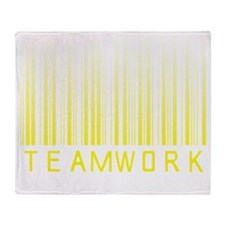 teamwork-bar02 copy Throw Blanket