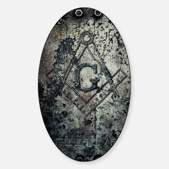 IronMason2 Sticker (Oval)