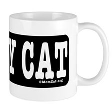 HeartCatLgPetBowl6.66x2 Small Mug