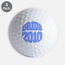 bride2010warped2 Golf Ball