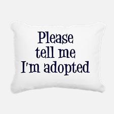 Adopted Rectangular Canvas Pillow
