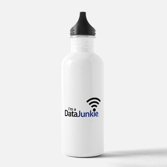Data Junkie Water Bottle