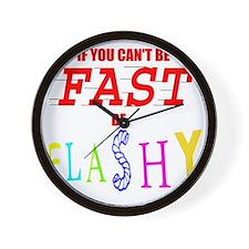 FASTFLASH copy Wall Clock