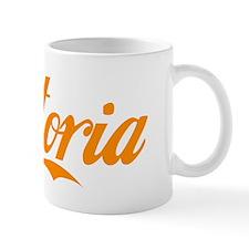 Astoria ORANGE WHITE Mug
