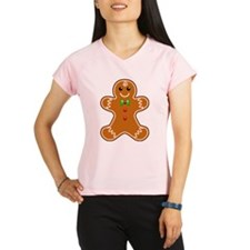Gingerbread Man Performance Dry T-Shirt