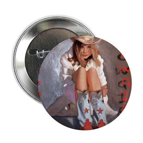 "Cowgirl-randy3 2.25"" Button"