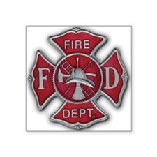 "02 FireMen 3.5 revised Square Sticker 3"" x 3"""