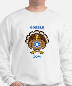 PERSONALIZE Thanksgiving Hanukkah Sweatshirt