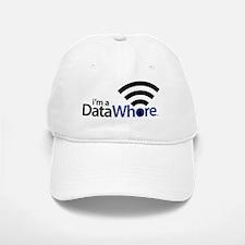 Data Whore Baseball Baseball Baseball Cap