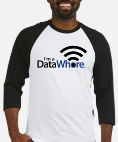 Data Whore Baseball Jersey