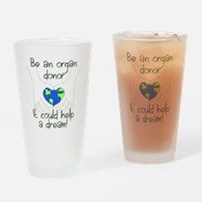 t shirt graphic large Drinking Glass