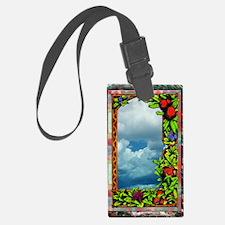 FloralVictorianArt-z-bhr-c-x Jou Luggage Tag
