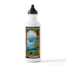 FloralVictorianArt-z-b Water Bottle