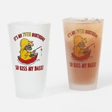 kissmybass75 Drinking Glass