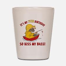 kissmybass75 Shot Glass