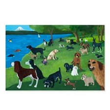 Sunday Park custom Postcards (Package of 8)