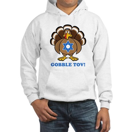 Funny Thanksgiving Hanukkah 2013 Hooded Sweatshirt