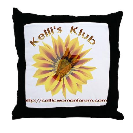 kellisklub2010_b Throw Pillow
