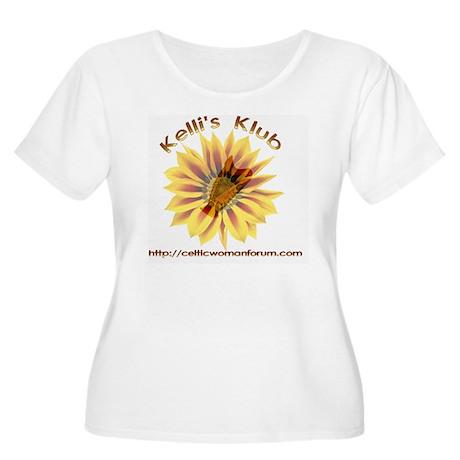 kellisklub201 Women's Plus Size Scoop Neck T-Shirt