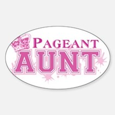 Pageant_aunt Sticker (Oval)