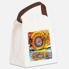 Lost Floating Reflection Canvas Lunch Bag
