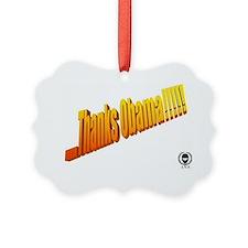 thanks2 Ornament