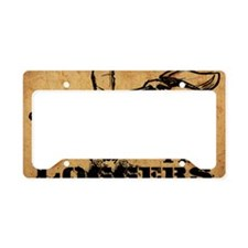 LoggersPoster License Plate Holder