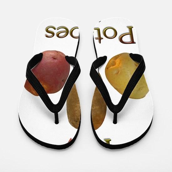 iluv_potatoes Flip Flops