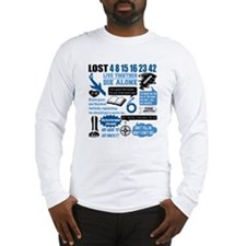 lost-quotes-forlights Long Sleeve T-Shirt