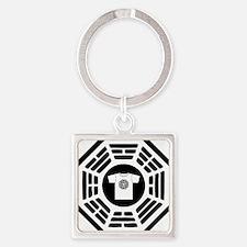 DHARMAlogo Square Keychain
