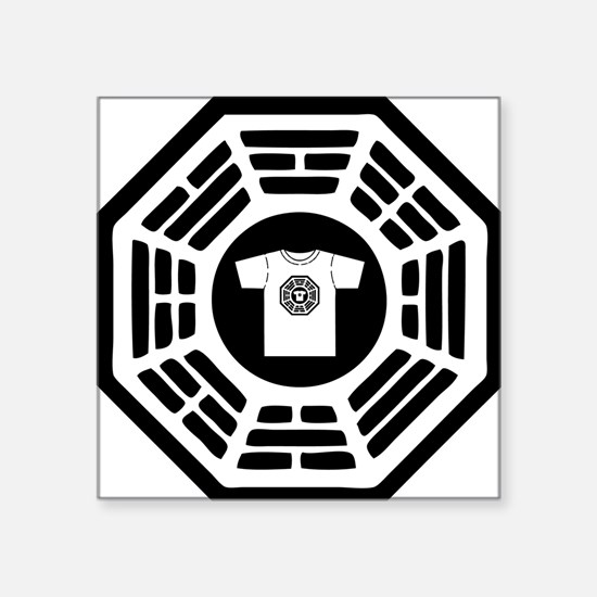 "DHARMAlogo Square Sticker 3"" x 3"""