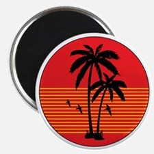 vintage-palm-tree Magnet