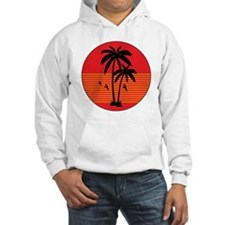 vintage-palm-tree Hoodie