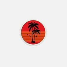 vintage-palm-tree Mini Button