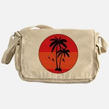 vintage-palm-tree Messenger Bag