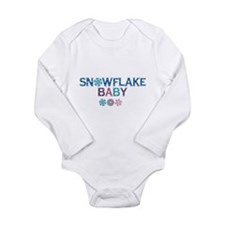 Snowflake Baby Body Suit