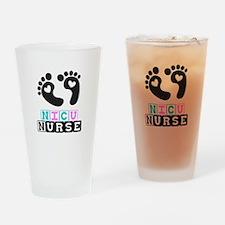 NICU Nurse 4 Drinking Glass