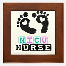 NICU Nurse 4 Framed Tile
