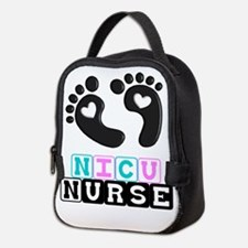 NICU Nurse 4 Neoprene Lunch Bag