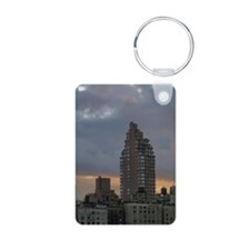Dawn Miniposter Aluminum Photo Keychain