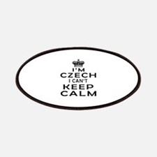 I Am Czech I Can Not Keep Calm Patches