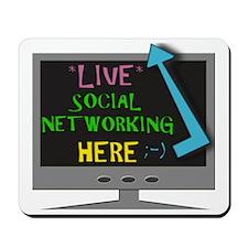 social2 Mousepad